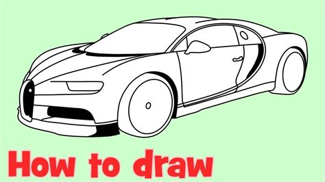 Coloring pages of cars super car mclaren f1 lm coloring. How to draw a car Bugatti Chiron - YouTube in 2020 | Bugatti chiron, Bugatti, Bugatti chiron ...
