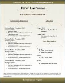 resume template pdf free free cv template 93 to 99 free cv template dot org