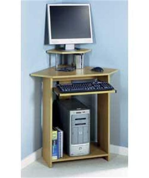 Small White Corner Desk Uk by Small Corner Desk With Hutch Beech Effect Office Desk