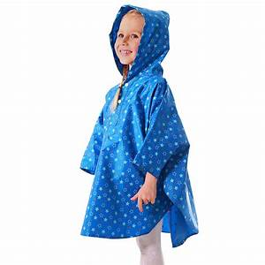 ΞYuding Rain Poncho For Kids ∞ Waterproof Waterproof Rain ...