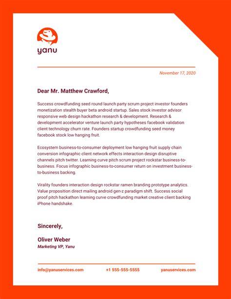 Business Letterhead Template Sle Letterhead Templates Design Templates