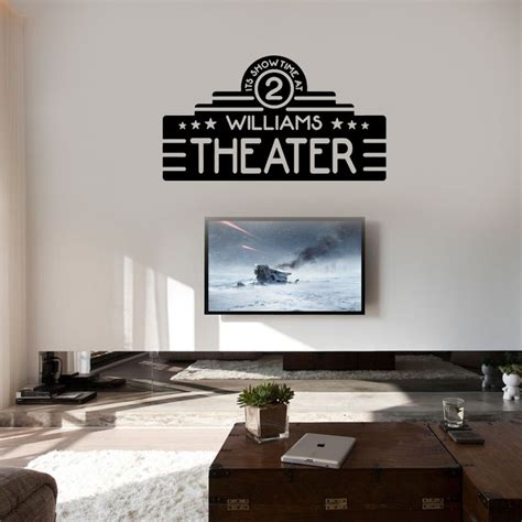 When you look at our dashboard, there are the most liked images with the highest number of pin_likes. Home Theater Decor Custom Name Movie Wall Vinyl Sticker ...
