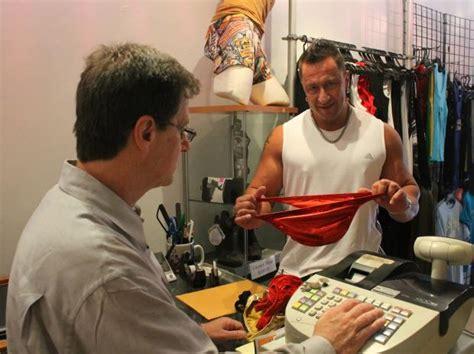 bodybuilder briefs  hot package  hells kitchen store