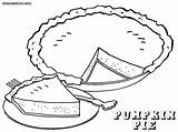 Pie Coloring Pages Print Piece Colorings sketch template