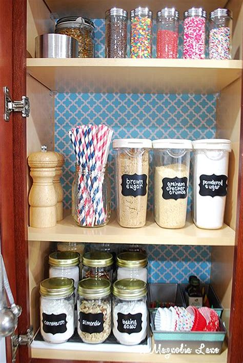 How To Organise A Pantry Cupboard by 1000 Ideas About Baking Storage On Baking
