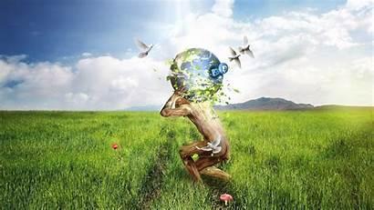 Surrealism Earth Mobile