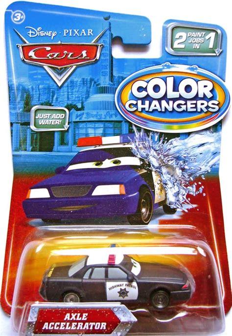 color changers world of cars pr 233 sentation du personnage axle accelerator