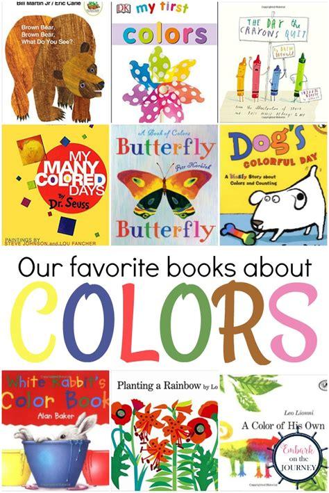 favorite books  teaching colors  printable