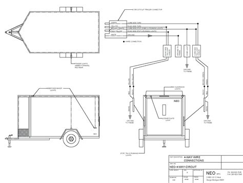 collection of dump trailer hydraulic wiring diagram