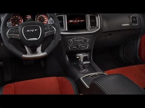dodge charger srt hellcat interior   youtube