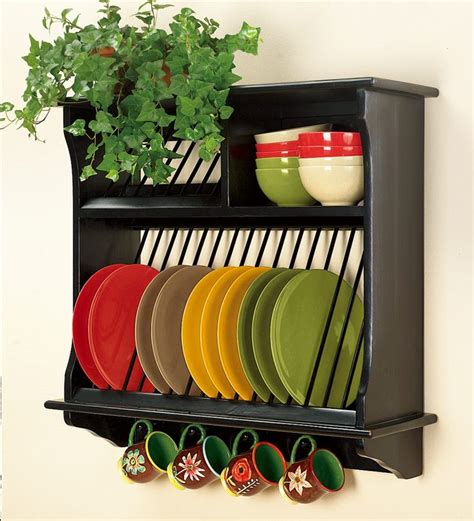 country kitchen plate rack de 25 bedste id 233 er inden for plate display p 229 6122