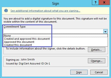 sign microsoft office    documents