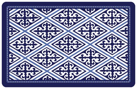 blue kitchen floor mats blue mat sku mk 0067 4826
