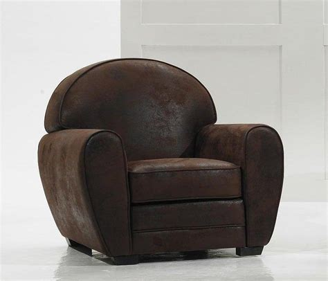 canape tissu style anglais fauteuil marron vintage microfibre made in italy