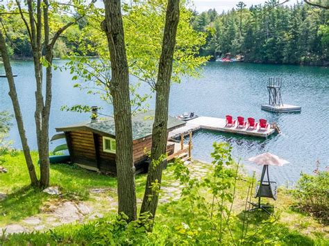 Clear Lake Ontario Cottage Rentals by Clear Lake Cottage Parry Sound Cottage Rental