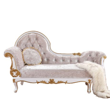 chaise lounge chair indoor juvenile french style long sofa