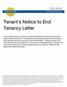 tenant notice letter template fingradiotk With end of tenancy letter template from landlord