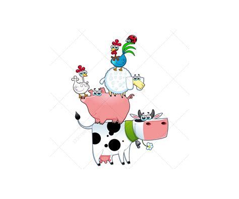 farm vector illustration megapack farmer dog  horse