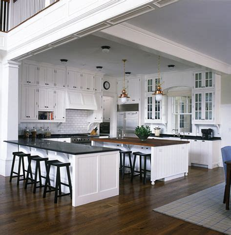 traditional kitchen    traditional totally open floor plan home  darien ct  mark p