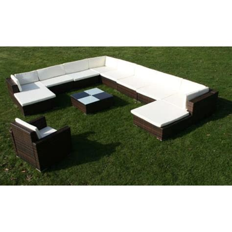 Gartenmöbel Rattan Set by Gartenm 246 Bel Poly Rattan Lounge Set De Vidaxl Ch