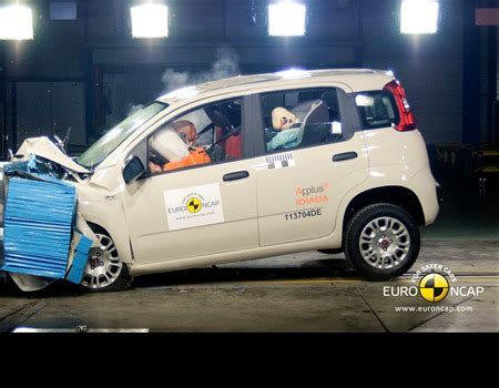 si鑒e auto crash test nuova fiat panda delude nei crash test sicurauto it