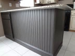 Kitchen Island Outlets Adding Beadboard To Your Kitchen Island In Our Spare Time