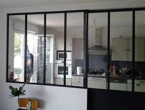 verri鑽e de cuisine separation cuisine style atelier photos de conception de maison elrup com