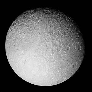 Tethys, a moon of Saturn. | Solar System | Pinterest ...
