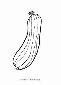 Gemüse Bilder Zum Ausdrucken : ausmalbilder malvorlagen gemuese zucchini ~ A.2002-acura-tl-radio.info Haus und Dekorationen