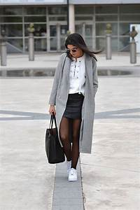 Idée De Tenue : lace up sweatshirt leather skirt june sixty five ~ Melissatoandfro.com Idées de Décoration