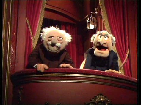 muppets bild statler waldorf