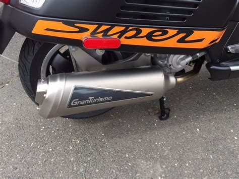 just installed this awesome leo vince granturismo exhaust on a vespa gts 300 ie sport se