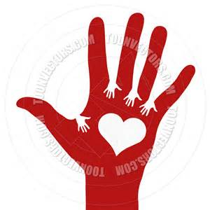 Hands Reaching Out Clip Art