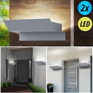 Balkon Wand Verschönern : led au en lampen verzinkt wand strahler leuchten veranda balkon leuchten silber ebay ~ Indierocktalk.com Haus und Dekorationen