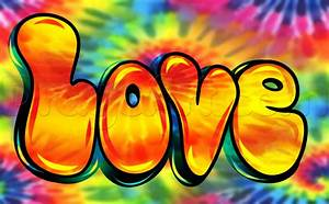 Learn How to Draw Hippie Love, Graffiti, Pop Culture, FREE ...