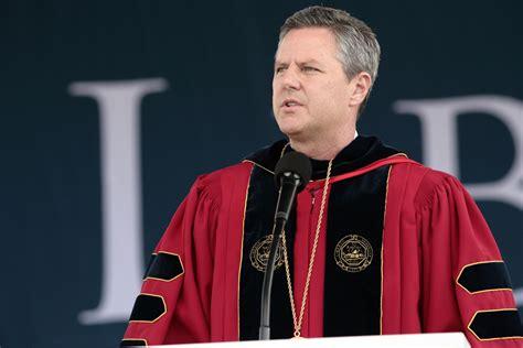 hillary clinton calls  liberty university president