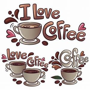 I love coffee background Vector | Free Download