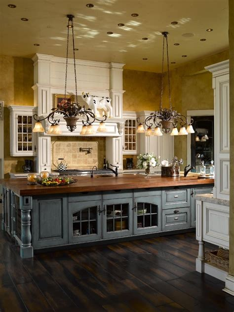 country kitchens with islands 63 gorgeous country interior decor ideas shelterness