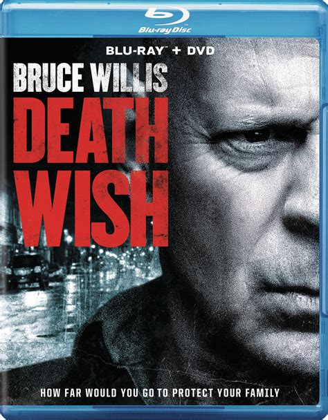 Death wish is a 1974 criminal thriller film based on the 1972 novel by brian garfield. Death Wish Blu-ray/DVD 2018 - Best Buy