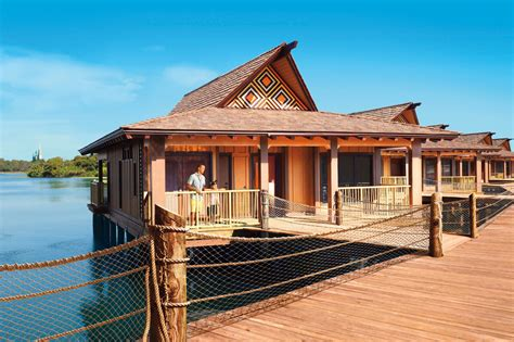 Bungalows : Disney's Polynesian Villas And Bungalows
