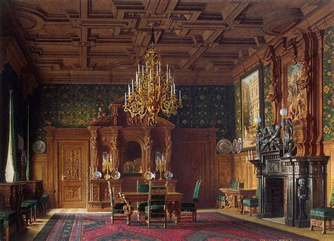 Mansion Of Baron Al Stieglitz The Dining Room Luigi