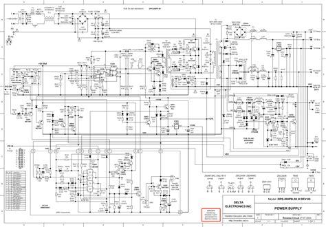 Delta Dpspb Rev Atx Power Supply Service Manual