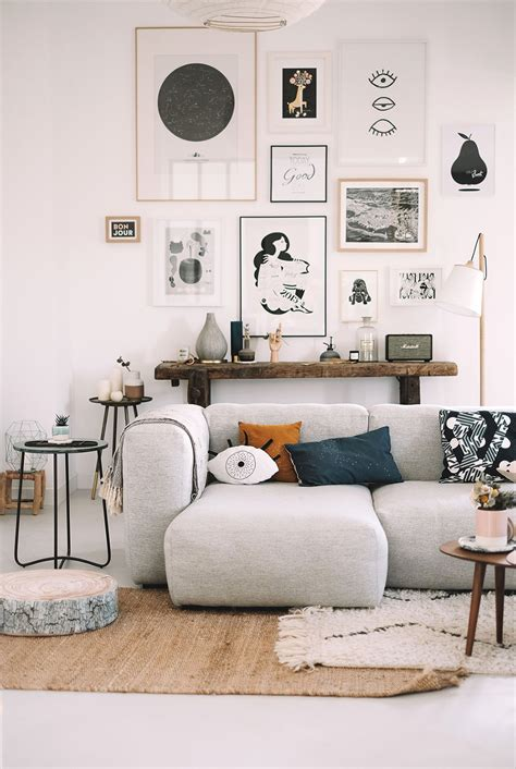 Living Room Decor Photo Gallery by 20 Gallery Wall Ideas To Create A Focal Point In Any Room
