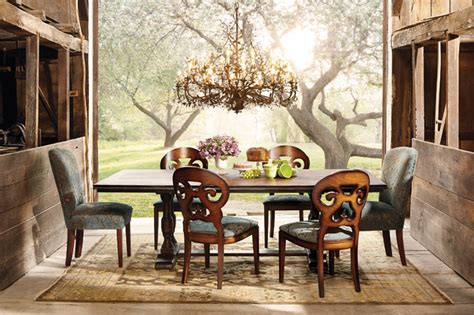 arhaus furniture dining room tables pietro collection eclectic dining room by arhaus