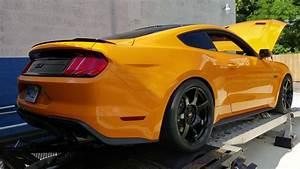 2018 Orange fury Mustang GT on E85 - YouTube