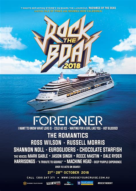 Rock Boat by Rock The Boat 2018 Choose Your Cruise