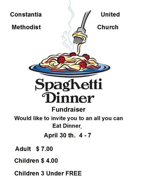 Spaghetti Dinner Clip Home Made Spaghetti Dinner All You Can Eat Syracuse New