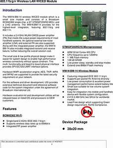 Wiznet Wizfi250 Wifi Module User Manual Wm N Bm 14