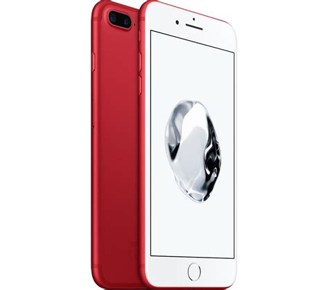 buy apple iphone 7 plus 128 gb red free delivery currys