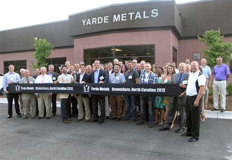 Unc Its Help Center by Yarde Metals News Events Yarde Metals Celebrates Grand